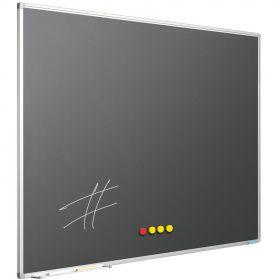 Krijtbord Antraciet Grijs, 120 x 400 cm