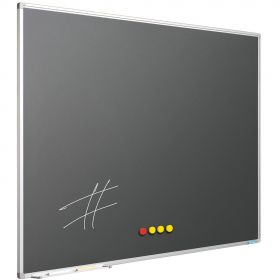 Krijtbord Antraciet Grijs, 120 x 300 cm