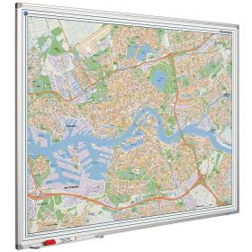 Whiteboard landkaart - Rotterdam