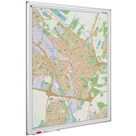 Whiteboard landkaart - Utrecht