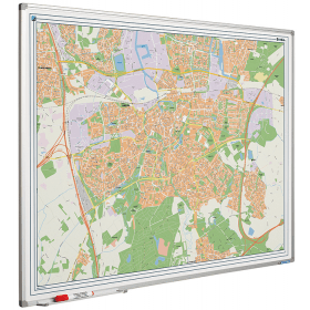 Whiteboard landkaart - Breda