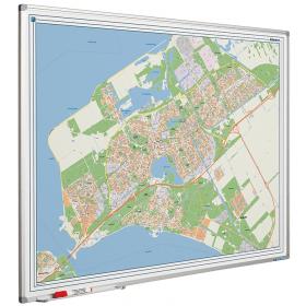 Whiteboard landkaart - Almere