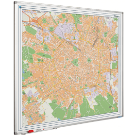 Whiteboard landkaart - Milaan