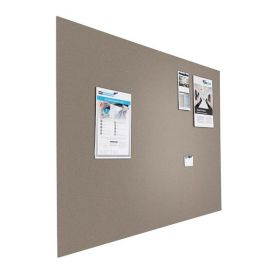 Prikbord bulletin - Zwevend - 120x180 cm - Grijs 1