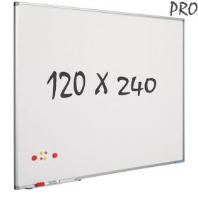 whiteboard emaille 120 x 240 cm
