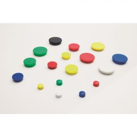 Whiteboard Magneten 30 mm - Wit - 10 Stuks