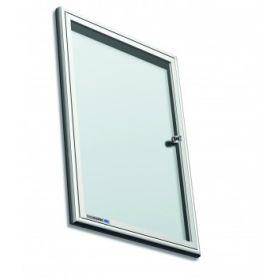 Premium binnenvitrine - met scharnierdeur - 68,6 x 94,7 cm