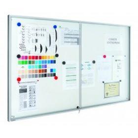 Premium binnenvitrine - met schuifdeur - 95 x 112 cm