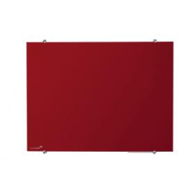 glasbord 100x150 cm rood
