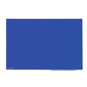 blauw glassboard 60x80 cm