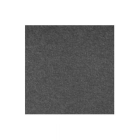 Akoestisch wandpaneel PET-vilt - 100x100 cm - Antraciet