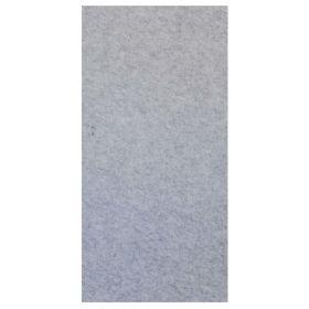 Chameleon akoestisch wandpaneel PET-vilt - Modulair - 198x98 cm - Silver Grey