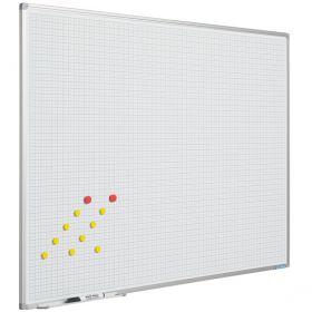 Whiteboard met Ruit, 120 x 200 cm