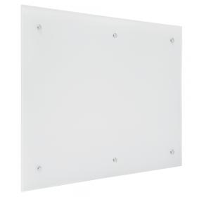 Glassboard wit - 100x200 cm 6-pins