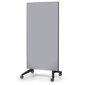 mobile glassboard grey
