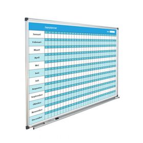 Jaarplanner Nederlands 90x120 cm