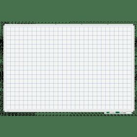 whiteboard met raster 100x150 cm