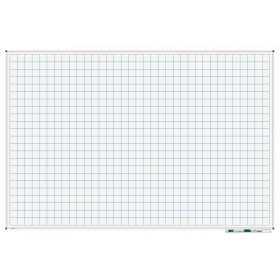 whiteboard raster 120x180 cm