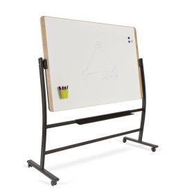 Rocada Natural verrijdbaar whiteboard - Magnetisch - 100 x 150 cm