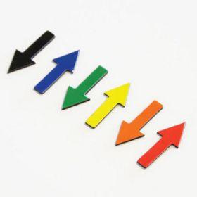 Magnetische symbolen - Pijl - 1 cm - Groen - vel van 35 stuks