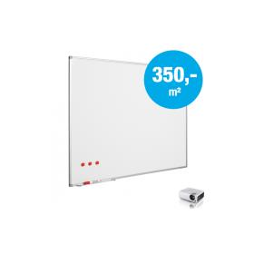 Whiteboard op maat - Mica (max. 150x240 cm)