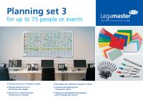 Legamaster Planningset voor whiteboard