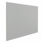 Whiteboard zonder rand - 90x120 cm - Grijs