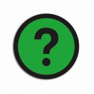 Vraagteken groen